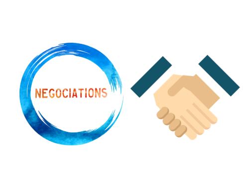 Réunion de négociation de la convention collective du tra...